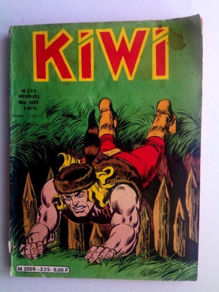 BD kiwi n°325 Le Petit Trappeur (Le retour du passé) LUG 1982