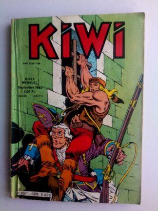BD kiwi n°329 Le Petit Trappeur (Le canon diabolique) LUG 1982