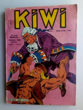 BD kiwi n°330 Le Petit Trappeur (A qui est le daim) LUG 1982
