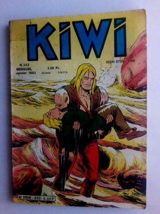 BD kiwi n°333 Le Petit Trappeur (Infâme chantage) LUG 1983