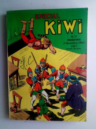 BD SPECIAL KIWI n°17 : Trapper John (L'or disparu) LUG 1963