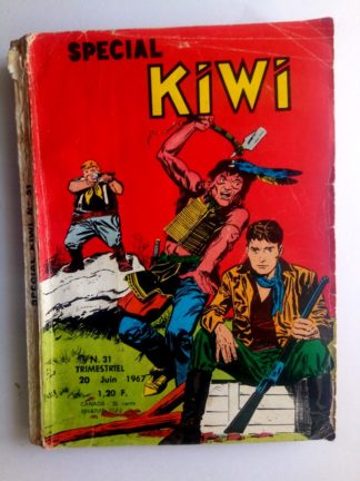 BD SPECIAL KIWI n°31 ZAGOR (Mission non remplie) Editions LUG 1967