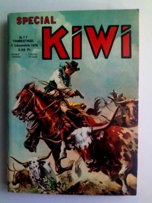 KIWI SPECIAL N°77 Le Petit Ranger – La fièvre de l'or – LUG 1978
