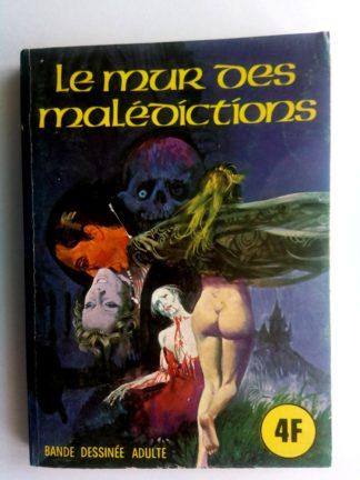SERIE BLEUE N°13 Le mur des malédictions - ELVIFRANCE 1975