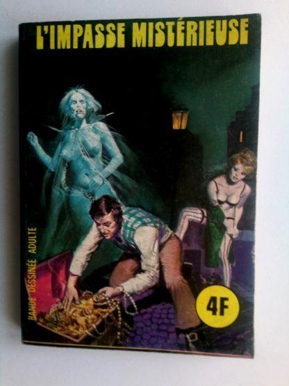BD SERIE BLEUE N°21 L'impasse mistérieuse - ELVIFRANCE 1976