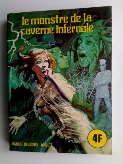 BD SERIE BLEUE N°23 Le monstre de la caverne infernale - ELVIFRANCE 1976