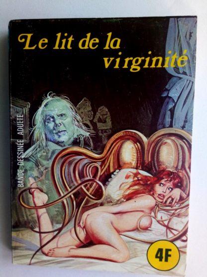 BD SERIE BLEUE N°38 Le lit de la virginité - ELVIFRANCE 1977