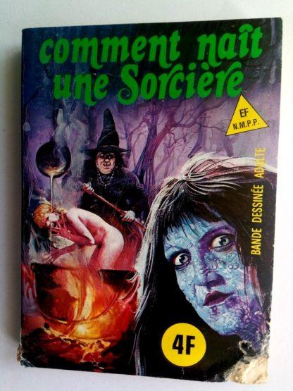 BD SERIE BLEUE N°42 Comment naît une sorcière - ELVIFRANCE 1977