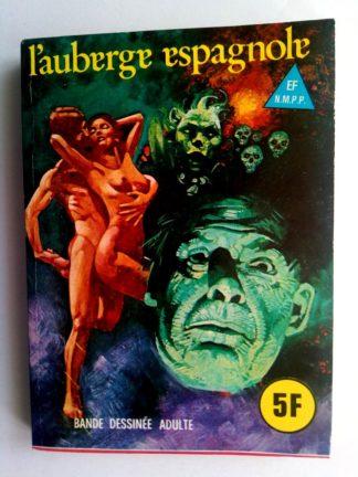 BD SERIE BLEUE N°51 L'auberge espagnole - ELVIFRANCE 1979