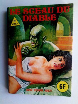 BD SERIE BLEUE N°54 Le sceau du diable - ELVIFRANCE 1979