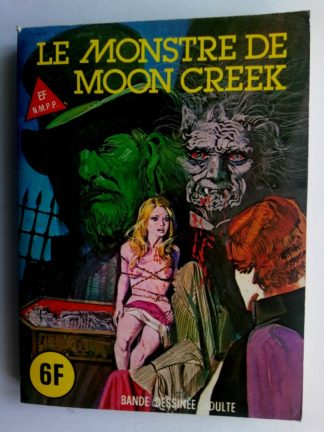 BD SERIE BLEUE N°59 Le monstre de Moon Creek - ELVIFRANCE 1980