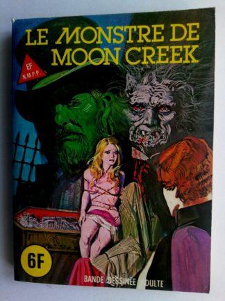 BD SERIE BLEUE N°59 Le monstre de Moon Creek - ELVIFRANCE 1980