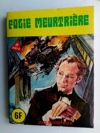 BD SERIE BLEUE N°63 Folie meurtrière - ELVIFRANCE 1980