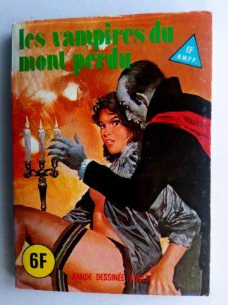 BD SERIE BLEUE N°66 Les vampires du Mont Perdu - ELVIFRANCE