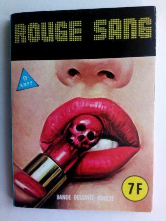 BD SERIE BLEUE N°79 Rouge sang - ELVIFRANCE 1981