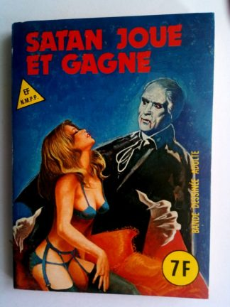 BD SERIE BLEUE N°80 Satan joue et gagne - ELVIFRANCE 1982