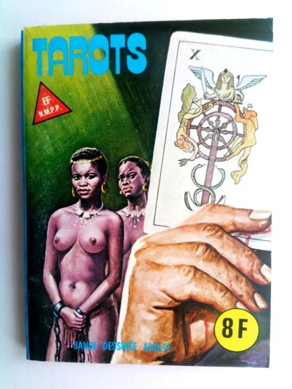 BD SERIE BLEUE N°86 Tarots - Editions ELVIFRANCE 1982