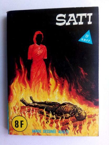 BD SERIE BLEUE N°90 Sati - ELVIFRANCE Editions 1982