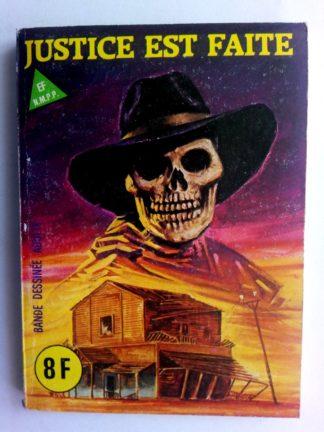 BD SERIE BLEUE N°92 Justice est faite - ELVIFRANCE 1983