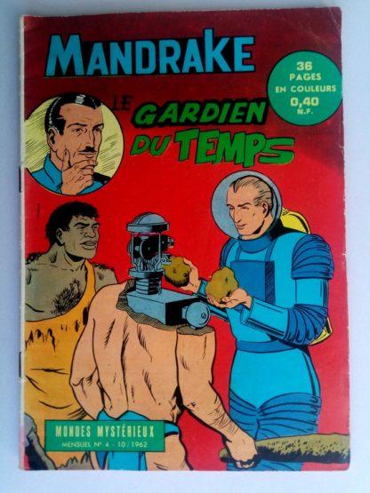 BD MANDRAKE N°4 Le gardien du temps - Remparts 1962