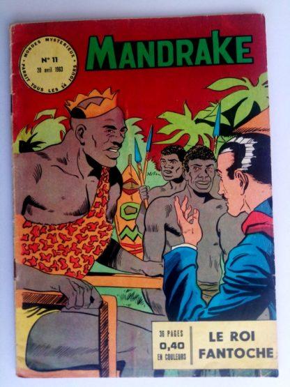 BD MANDRAKE N°11 Le roi fantoche - Remparts 1963