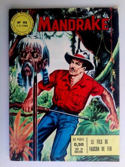BD MANDRAKE N°95 Le fils du Faucon de fer - Remparts 1966