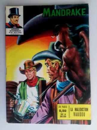 BD MANDRAKE N°97 La malédiction vaudou - Remparts 1966