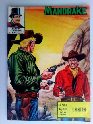 BD MANDRAKE N°101 L'héritière - Editions des Remparts 1967