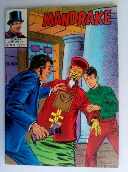 BD MANDRAKE N°110 Vol dans un nuage - Editions des Remparts 1967