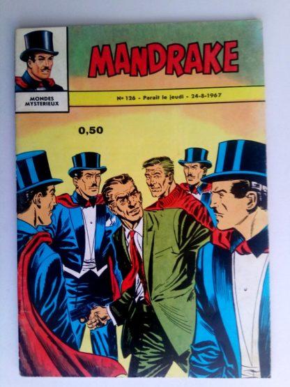 BD MANDRAKE N°126 Panique dans la ville - Remparts 1967