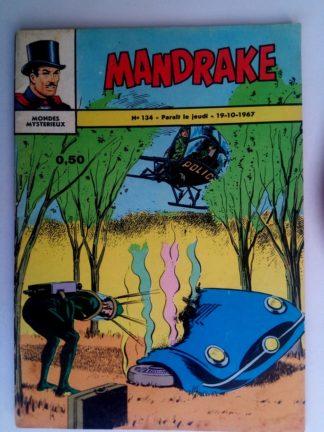 BD MANDRAKE N°134 La fin de l'homme-taupe - Remparts 1967
