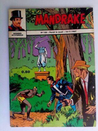 BD MANDRAKE N°138 Le guerrier sans tête - Remparts 1967