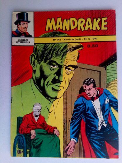 BD MANDRAKE N°142 La clinique clandestine - Remparts 1967