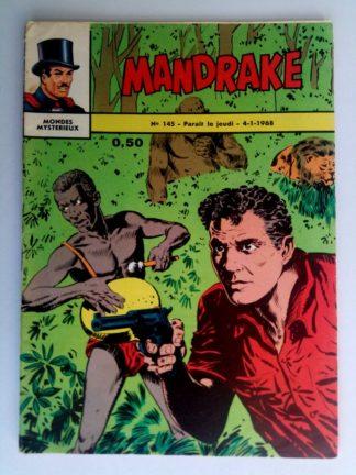 BD MANDRAKE N°145 Le cataclysme - Editions des Remparts 1968