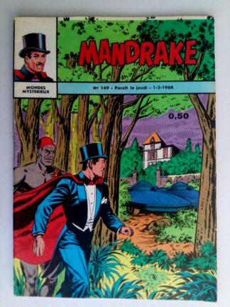 BD MANDRAKE N°149 Les petits hommes - Editions des Remparts 1968