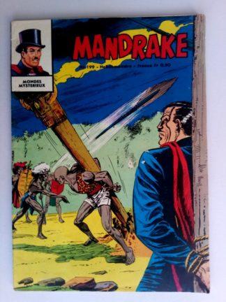 BD MANDRAKE N°199 La ville interdite - Editions des Remparts 1969