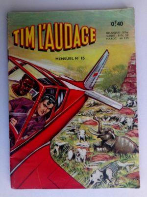 TIM L'AUDACE N°15 Le cimetière d'éléphants – ARTIMA 1963