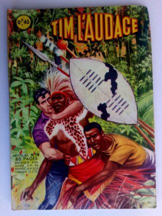 BD TIM L'AUDACE N°19 Au bord du Nyassa - ARTIMA 1963