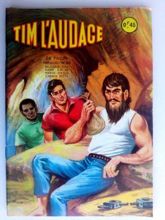 BD TIM L'AUDACE N°20 L'aventurier du Kalahari - ARTIMA 1963