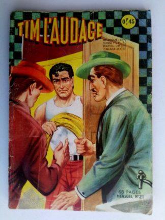 BD TIM L'AUDACE N°21 Complicité involontaire - ARTIMA 1963