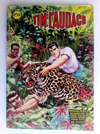 BD TIM L'AUDACE N°22 Danger on tourne - ARTIMA 1963