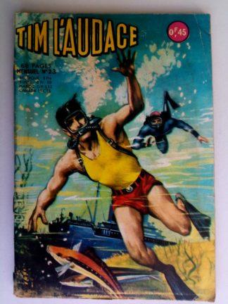 BD TIM L'AUDACE N°23 Les pilleurs d'épaves - ARTIMA 1963