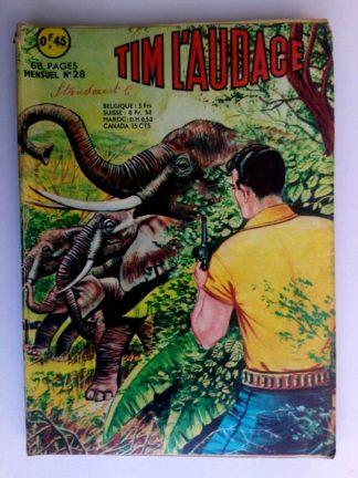 BD TIM L'AUDACE N°28 La horde du Diable - ARTIMA 1964