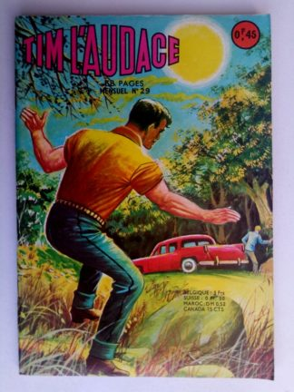 TIM L'AUDACE N°29 Un cap difficile - ARTIMA 1964