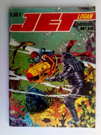 BD JET LOGAN N°14 Point critique - IMPERIA 1969