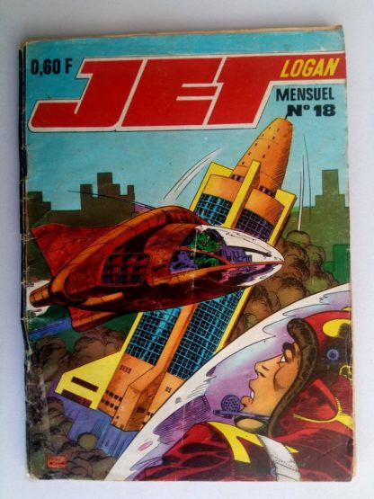 JET LOGAN N°18 Le dragon des abîmes (2e partie) IMPERIA 1969