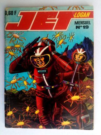 BD JET LOGAN N°19 Le royaume du feu - Editions IMPERIA 1969