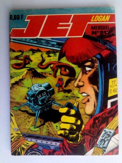 BD JET LOGAN N°21 La main de fer - Editions IMPERIA 1969