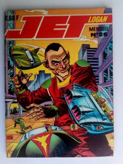 BD JET LOGAN N°26 Les géants de l'espace - Editions IMPERIA 1969