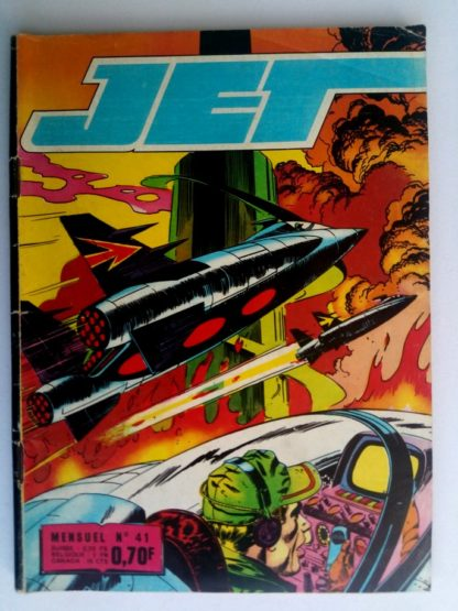 BD JET LOGAN N°41 Brave des braves - Editions IMPERIA 1969